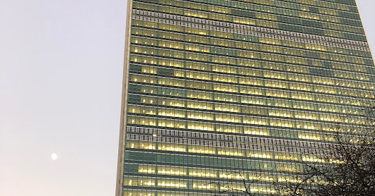 My First Time at The United Nations in New York.