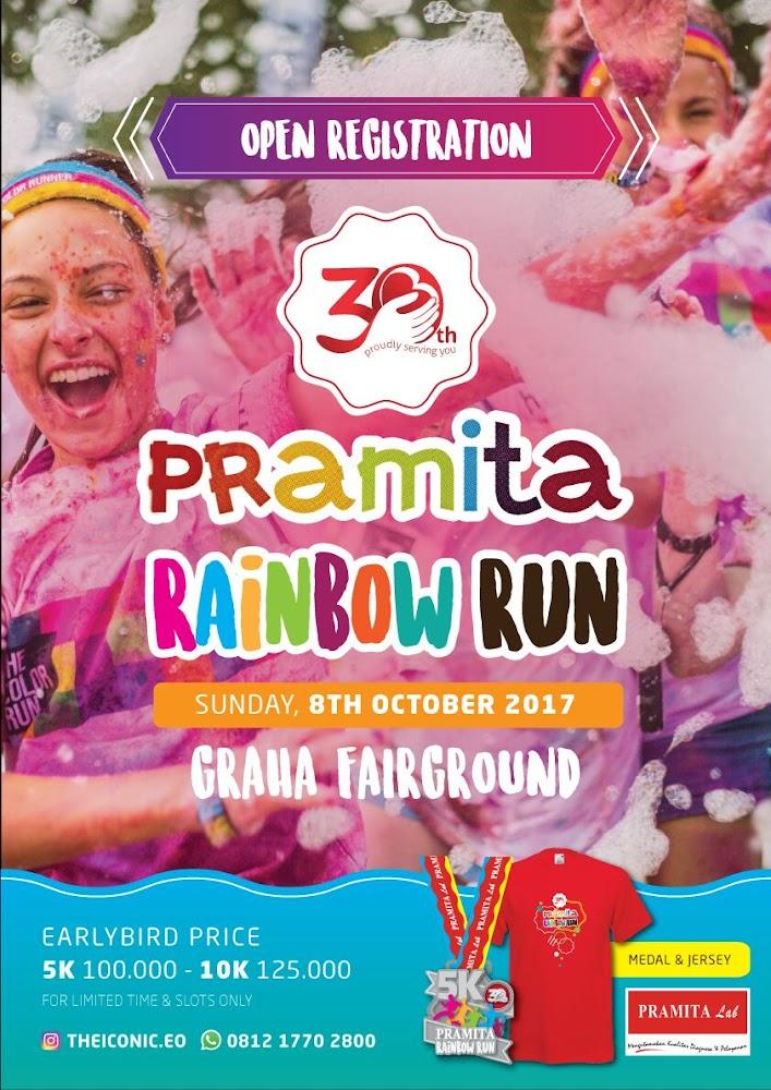 Pramita Rainbow Run • 2017