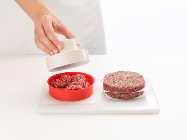 Molde para pan de hamburguesas Lékué