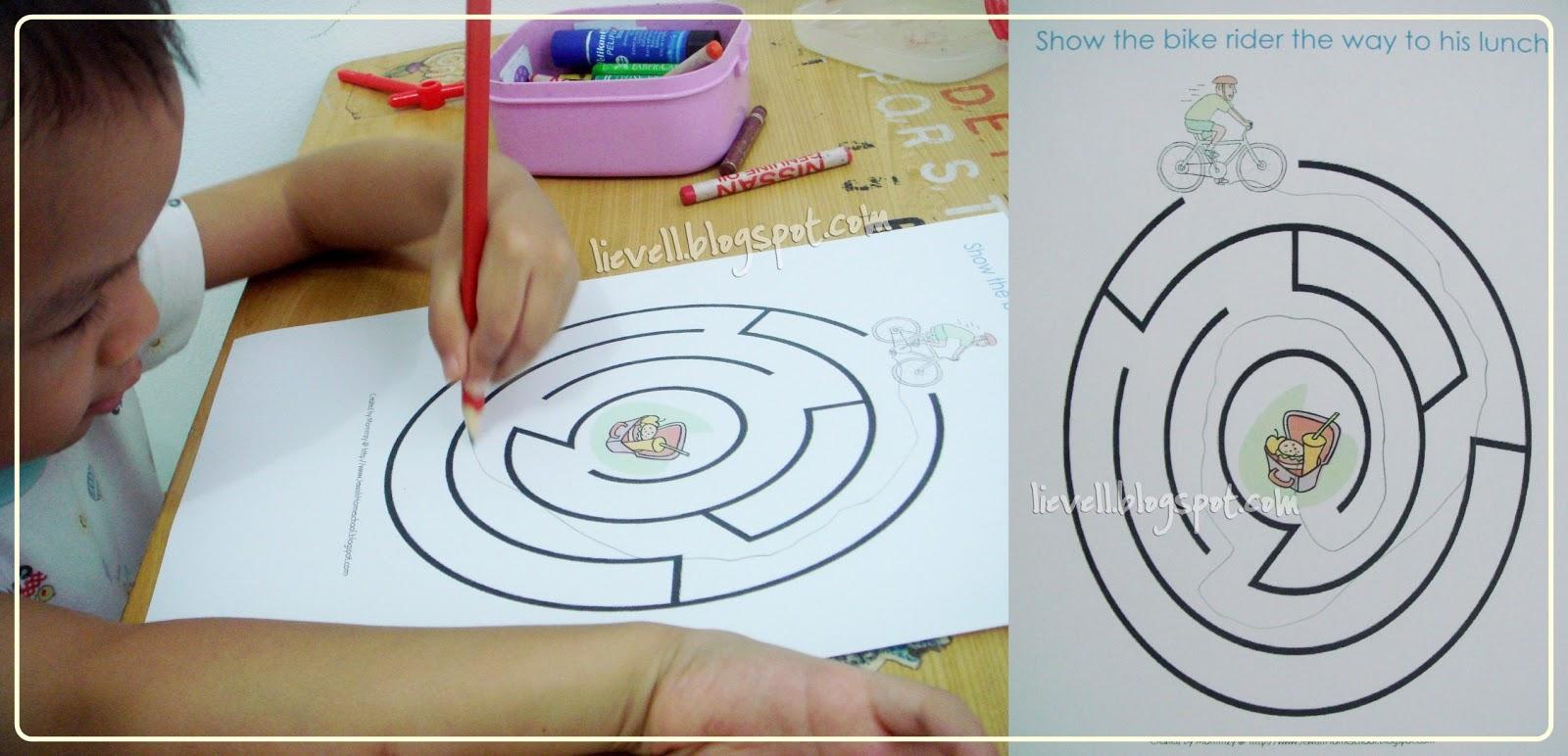 Helicopter Preschool Worksheet