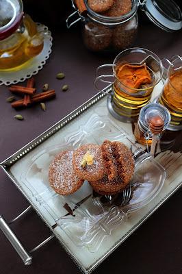 Постни джинджифилови бисквити с канела и кардамон