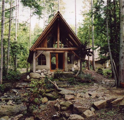 twine cottage in the woods. Black Bedroom Furniture Sets. Home Design Ideas