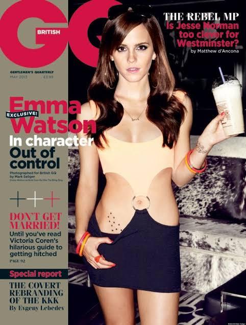 Emma Watson Sexy Photoshoot Pics- Hottest Cleavage Photos