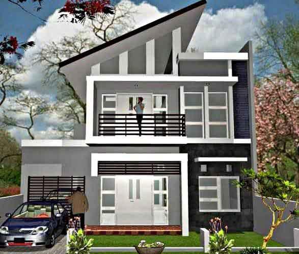Inspirasi Model Desain Rumah Minimalis 2 Lantai Sederhana 2018