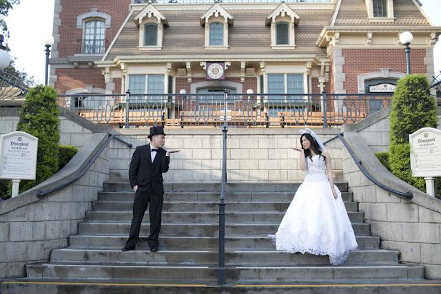 Disneyland Wedding {Sarina Love Photography}