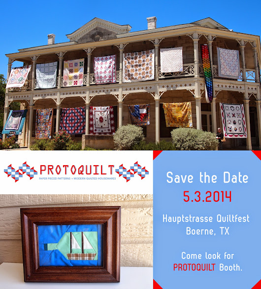 ProtoQuilt is coming to Hauptstrasse QuiltFest!  | ProtoQuilt