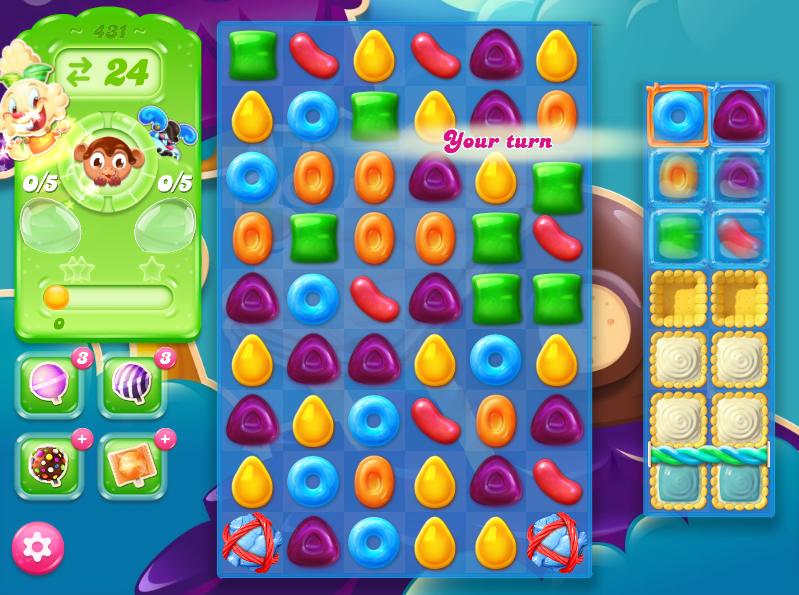 Candy Crush Jelly Saga 431