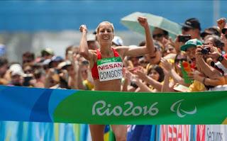 JUEGOS PARALÍMPICOS (Atletismo) - Festival de medallas en el último día de maratón: oro para Elena Congost y platas de Abderrahman y Alberto Suárez