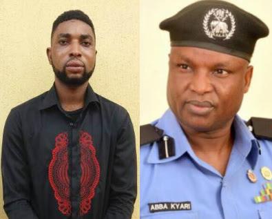 yahoo boy impersonating abba kyari arrested