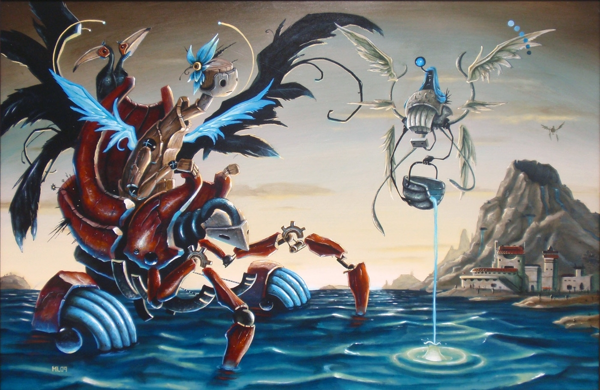 04-Companion-Matt-Linares-Surreal-Paintings-of-Worlds-in-Parallel-Universes-www-designstack-co