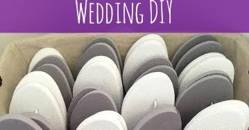 d46ef3294766 Wedding DIY  Flip Flop Basket