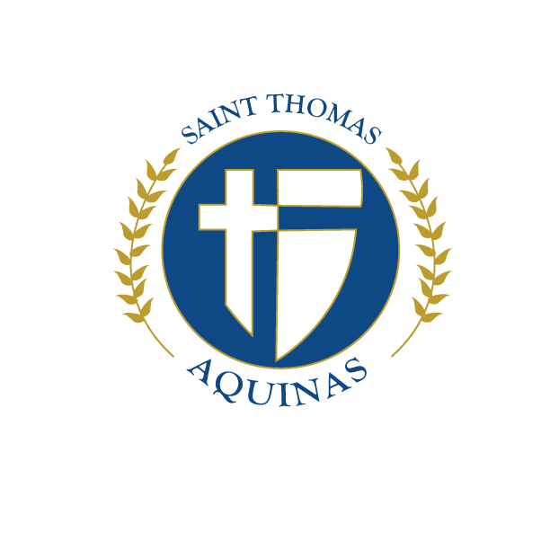Mr Currans Digital Creative Illustrator St Thomas Aquinas Seal