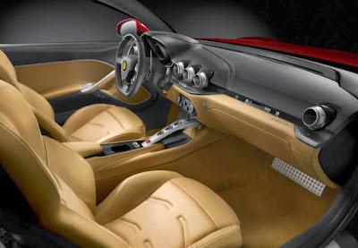 Ferrari 620 GT interior image