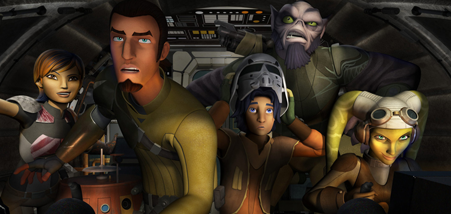 Trupa de rebeli din Star Wars: Rebels