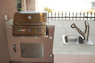 Custom Outdoor Kitchen DFW 7