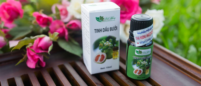 Tinh dầu bưởi Linh Hương review