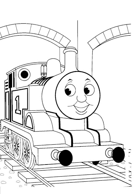 Free Printable Thomas The Train Coloring Pages
