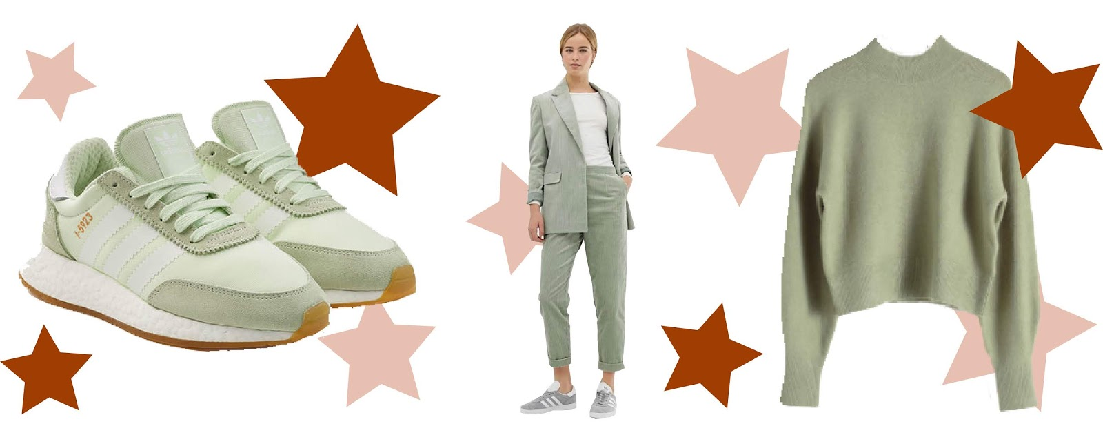 2019 trends collage sage green