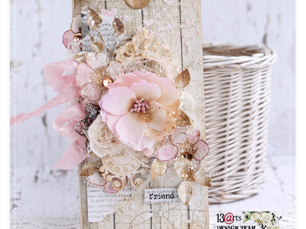 Shabby Chic Tag for a Friend