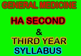 CTEVT Syllabus for Health Assistant second and third year