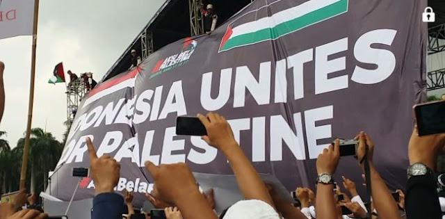 Aksi Bela Palestina, Sekjen MUI Bacakan 8 Pernyataan Sikap Berikut isinya