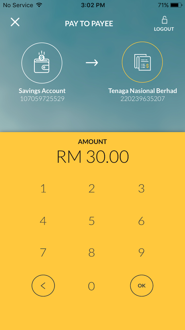 I tried paying my TNB bill, and it was just so intuitive and easy