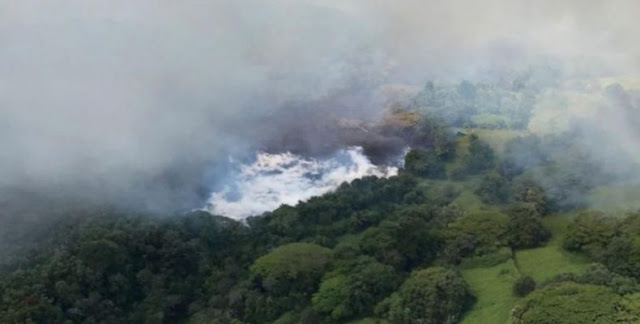 Εξατμίστηκε λίμνη εξαιτίας του ηφαιστείου Κιλαουέα (βίντεο)