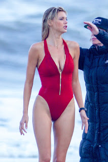 Kelly Rohrbach, Baywatch Set
