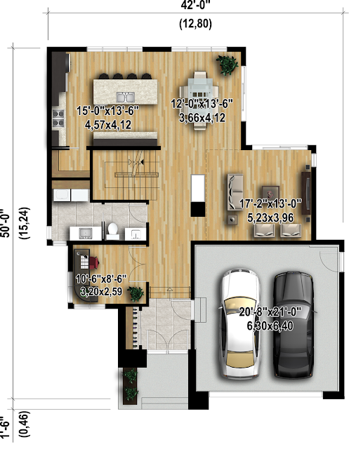 Gambar Rumah Minimalis Sederhana 2 Lantai Bergarasi