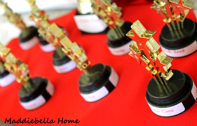 the awards for an oscars party