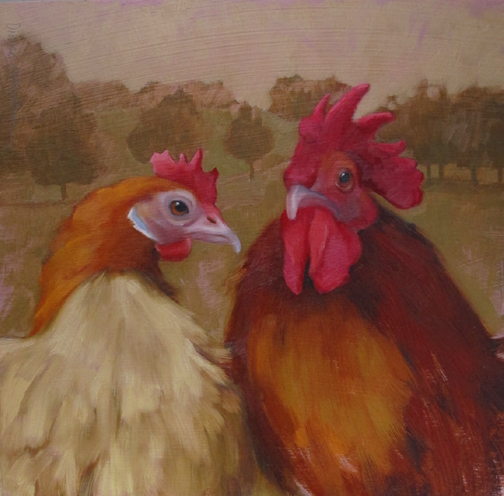 The Honeymooners, feathered friends from Farmpark