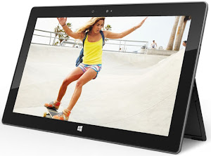 tablet surface harga dan spesifikasi, jensi dan macam tablet microsoft surface windows 8 terbaru, gambar tablet surface