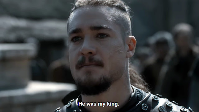 The Last Kingdom Uhtred He was my king.