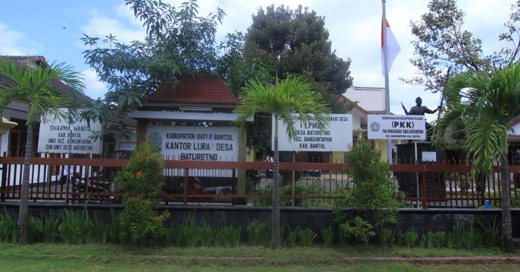 Desa Baturetno ~ Kecamatan Banguntapan