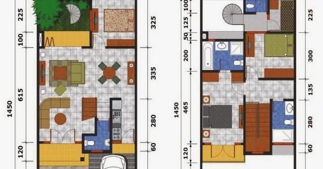 10+ Gambar Denah Rumah Minimalis Type 36 1 Lantai Paling ...