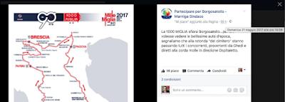 Andrea Grasso: il Sindaco annuncia l'evento a passaggio terminato