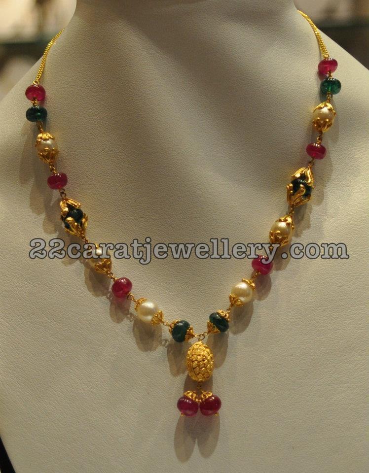 simple jewellery for kurthis jewellery designs