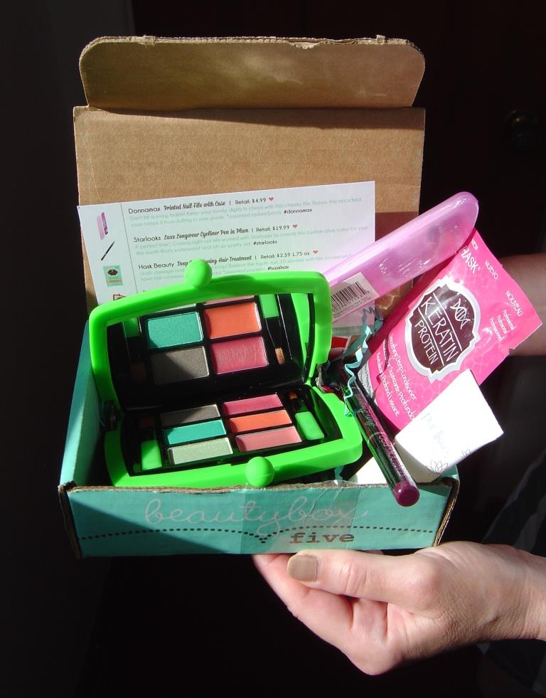 Beauty Box 5 August 2015