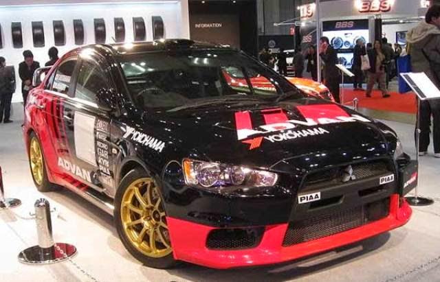 Modifikasi Mobil Mitsubishi Lancer keren