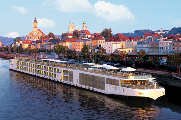 The Viking River Cruises Longship
