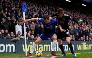 Chelsea vs Leicester City Imbang 0-0