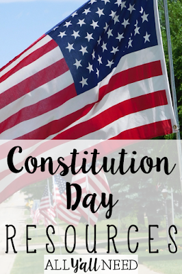 Constitution Day resources for elementary. Target vocabulary, difficult concepts, and IEP goals.