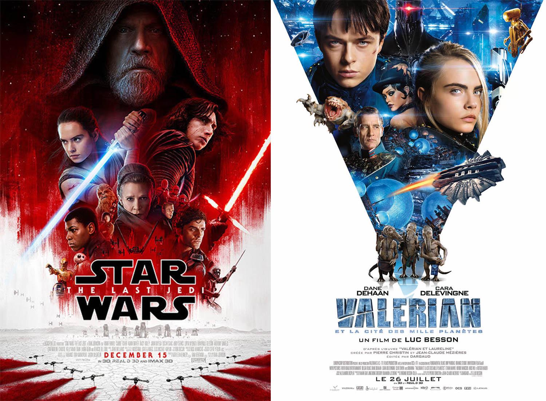 Entre Star Wars VIII et Valerian, un Noël galactique