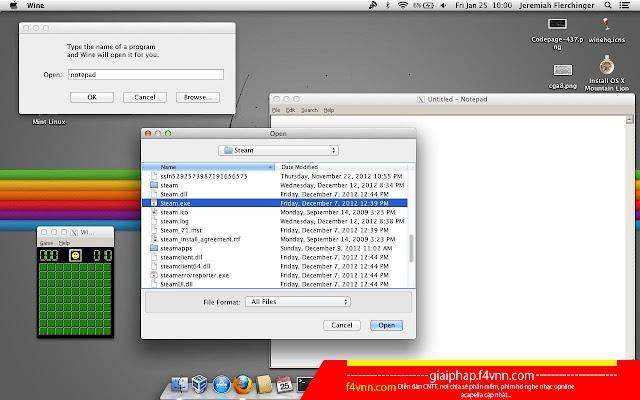 Wine for Mac - Chạy chương trình, ứng dụng windows trên máy Mac 2018