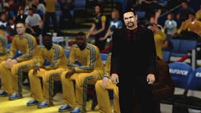 NBA 2K13 PC Mods Mark Jackson Face Update