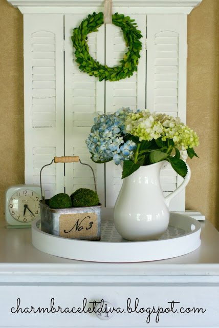 DIY Wooden Farmhouse Tray Target Decor