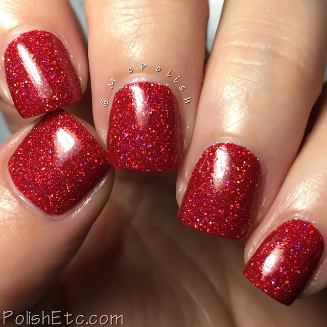 KBShimmer - Holo-Day Collection 2017 - McPolish - Deck the Claws