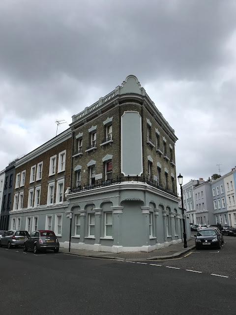 The former Unicorn Pub, corner of Princedale Road and Penzance Place, Notting Hill, London