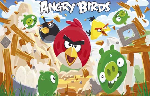 Decoração infantil Angry Birds - mesa decorativa e temática para festa de aniversário