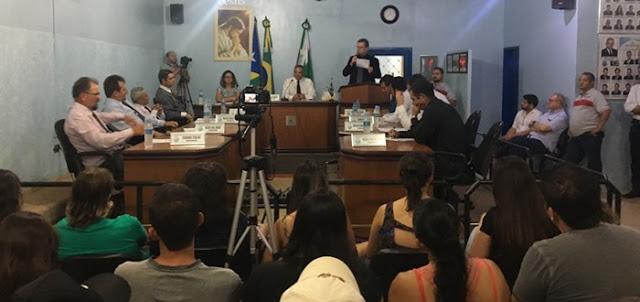Nova Cantu: Câmara mantém votação e reprova contas de ex-prefeito